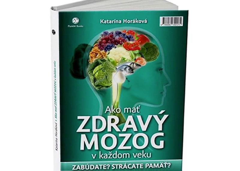 kniha - Ako mať zdravý mozog v každom veku