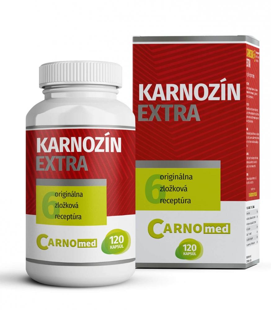 Karnozín EXTRA 120 - Multifunkčná ochrana buniek