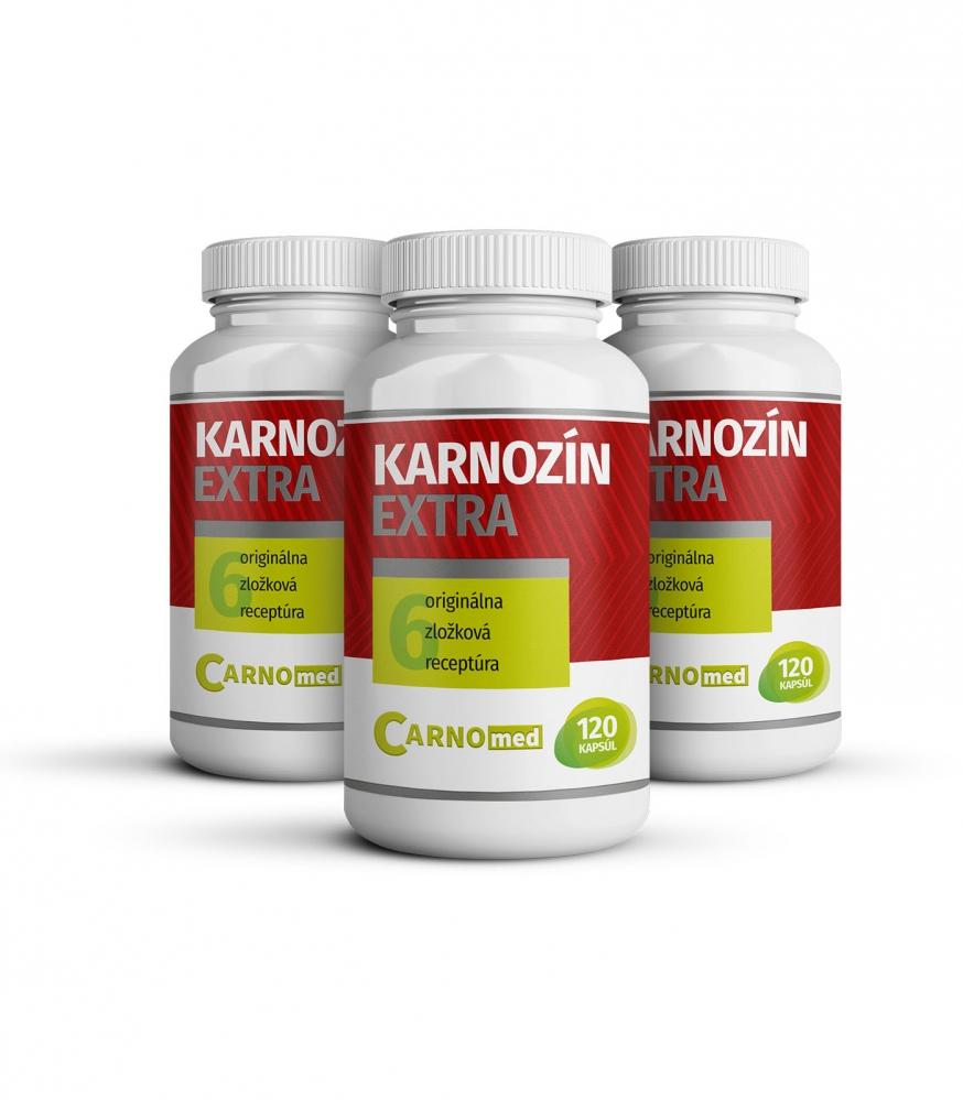 Karnozín Extra 3 balenia