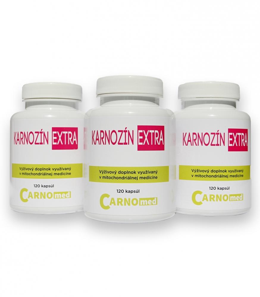 Karnozín Extra 3 balenia - so zľavou až 10%!