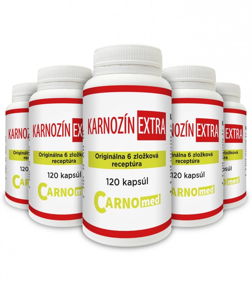 Karnozín EXTRA 5 balení - zľava 10% + vyšetrenie zdarma