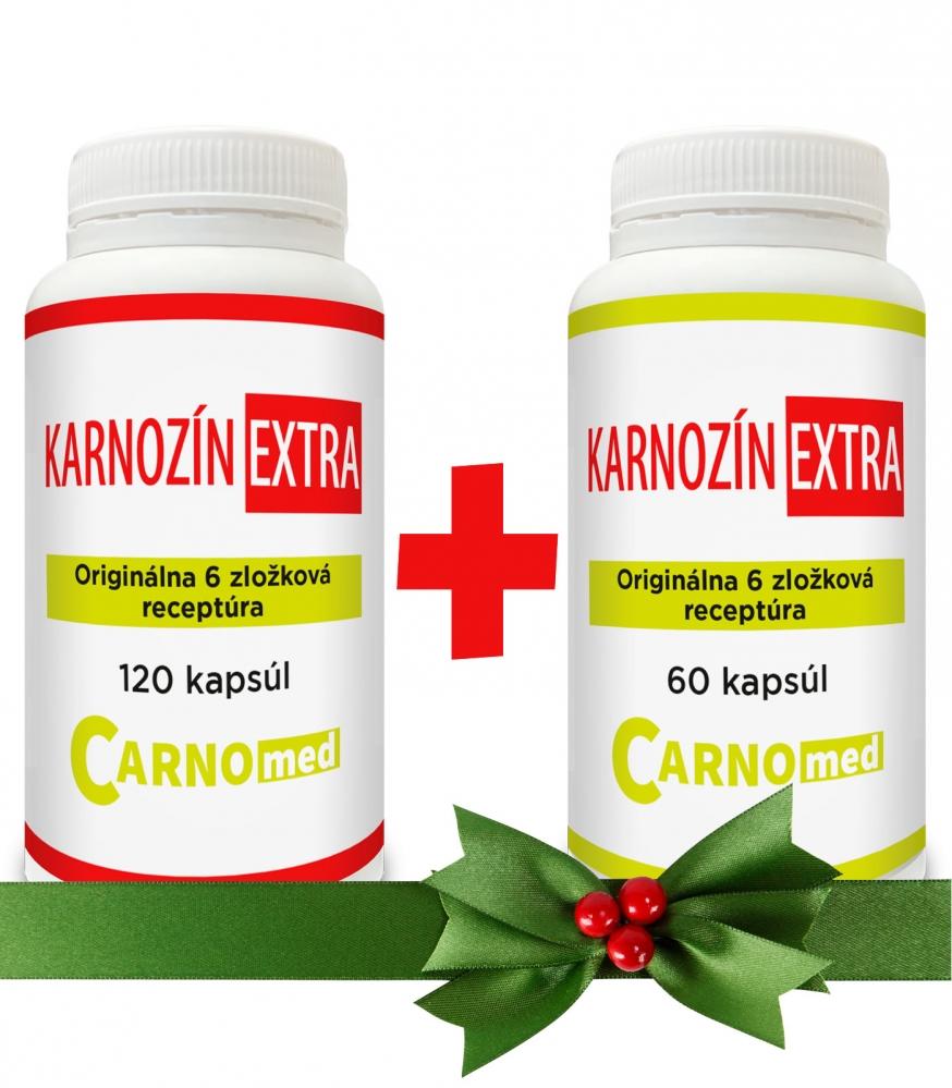 Karnozín EXTRA 120+60 - Vianočná akcia