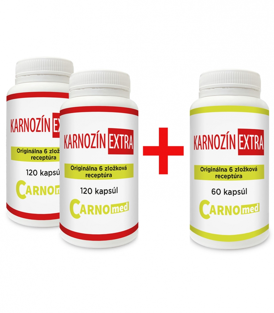Karnozín EXTRA 120+120+60 - Špeciálna akcia