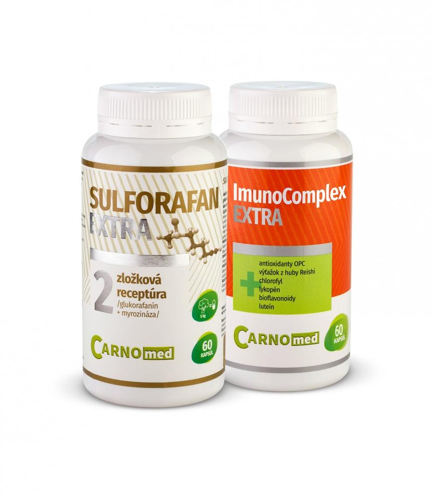 Sulforafan EXTRA + ImunoComplex EXTRA 60 - Aktívna ochrana buniek a podpora imunitného systému